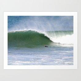 Mind Surfing Art Print