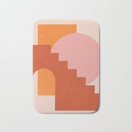 Abstraction_SHAPES_COLOR_Minimalism_003 Bath Mat
