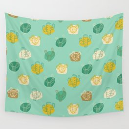 Cactus pattern Wall Tapestry