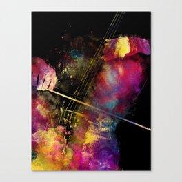 Violoncello art 1 #violoncello #cello #music Canvas Print
