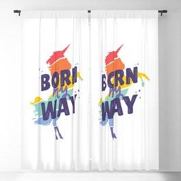 LGBTI Unicorn Blackout Curtain