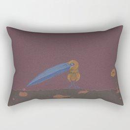 Big Beak Bird Rectangular Pillow