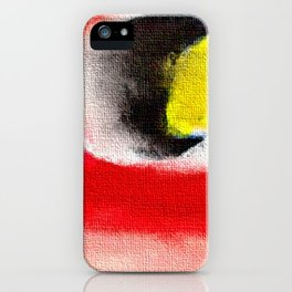 Abstract art. A painting for Tomie Ohtake iPhone Case