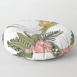 Palm Bouquets Floor Pillow