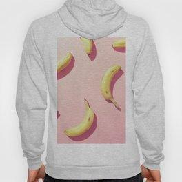 #01_banana on pink Hoody