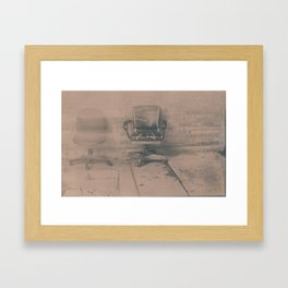 Shambling Framed Art Print