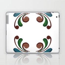 Colorful Watercolor Ornamental Pattern Laptop & iPad Skin