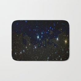 SPACE BACKGROUND Bath Mat