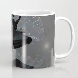Cosmic Jellyfish Mushroom Spore Fantasy Landscape 1 Coffee Mug