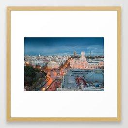 Cibeles Palace, Madrid Framed Art Print