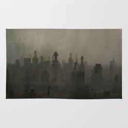 Dark And Dank Fog Rug
