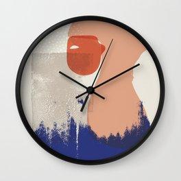 Kabuki Wall Clock