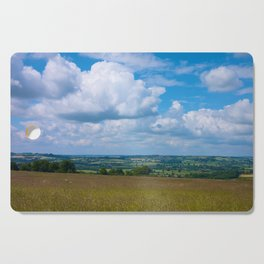 Looking across the Cotswolds, England Cutting Board