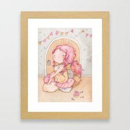 Hobbit Girl Framed Art Print