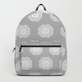 Grey Hmong elephant foot Backpack