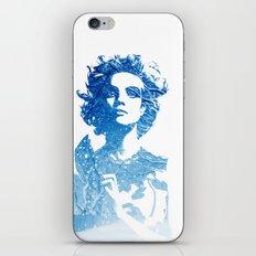 Snow: Natalia Vodianova iPhone & iPod Skin