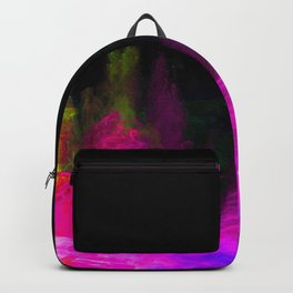 Glowing abstract 5 Backpack
