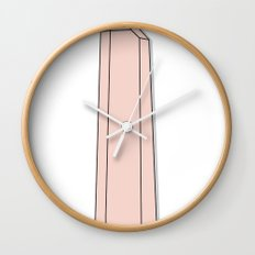 Rose Quartz Wall Clock