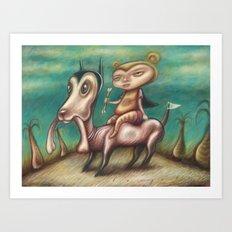 The Bone Collectors Art Print