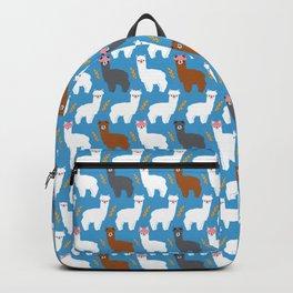 Pink Hair Alpacas I Backpack