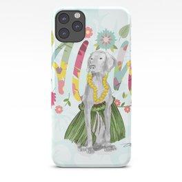 ALOHA WEIM iPhone Case