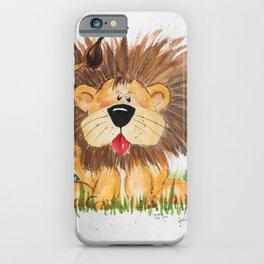Lucas the Lion iPhone Case