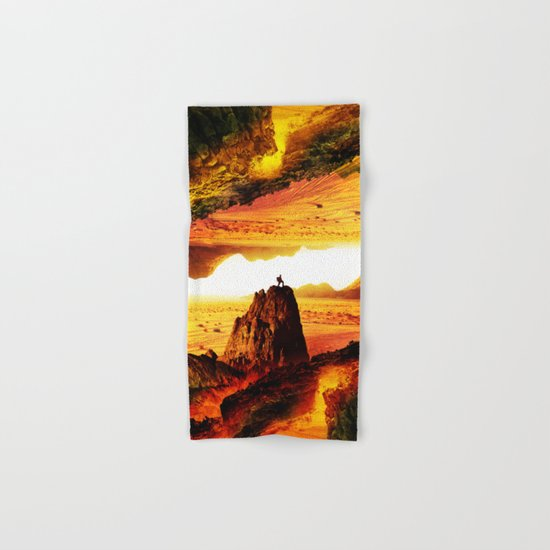 Lava Isolation Hand & Bath Towel