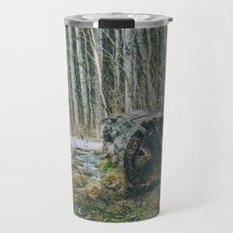 Walking by a forest Travel Mug