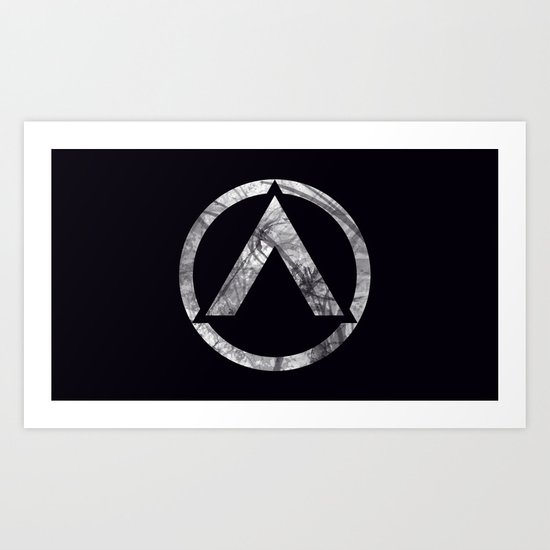 New Basslock Logo Art Print