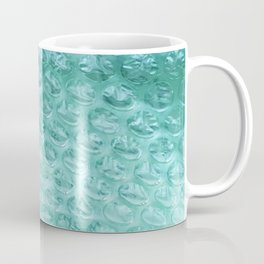 Aqua Bubble Wrap Coffee Mug