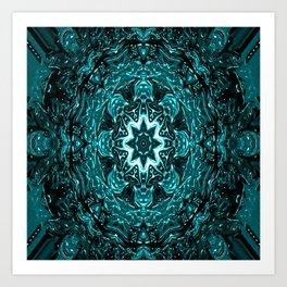 Neptune's Mandala... Art Print