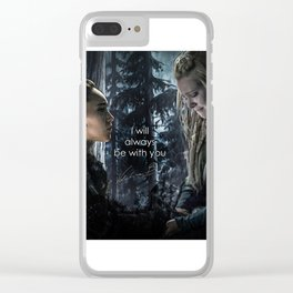"""Clexa: """" I will always be with you"""" Clear iPhone Case"""