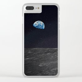 Space Cadets Clear iPhone Case