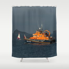 RNLI Lifeboat Torbay Shower Curtain