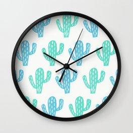 Zion Cactus Wall Clock