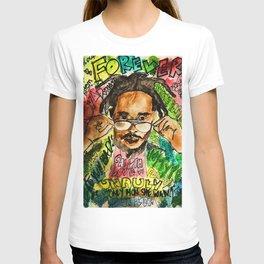 poppy,dancehall,reggae,music,lyrics,poster,jamaica,unruly,wall art T-shirt