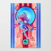 transistor Canvas Prints featuring Transistor by M.Gabric