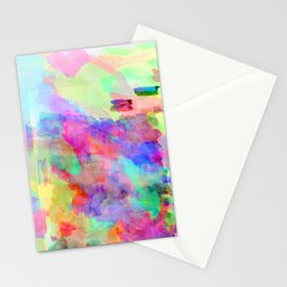 Neon Wash Stationery Cards
