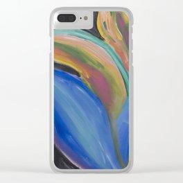 Jungle Lotus Clear iPhone Case