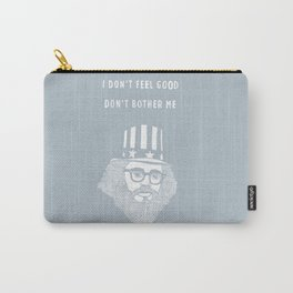 Allen Ginsberg - I don't feel good Carry-All Pouch