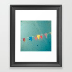 The Party Framed Art Print