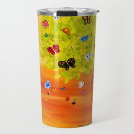 Butterfly Tree Travel Mug