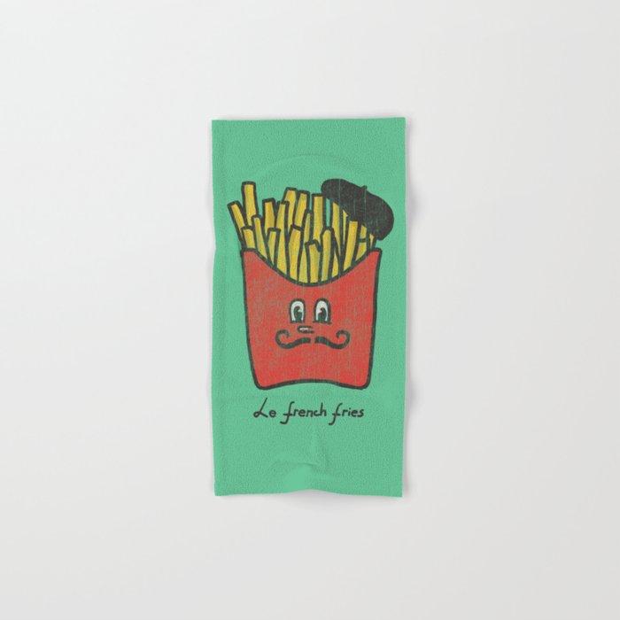 French Fries Hand & Bath Towel