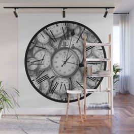 Time Inside of Time Wall Mural