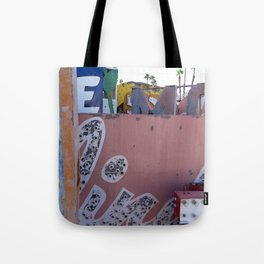 Broken Down Signs, Lights, and Colours in Las Vegas 02 Tote Bag