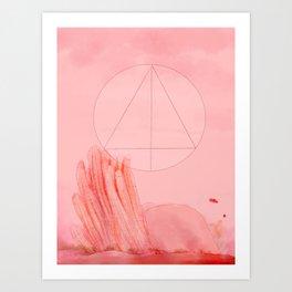 Desert I Art Print