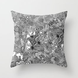 Abstraction #9 Throw Pillow