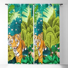 Jungle Tiger Blackout Curtain