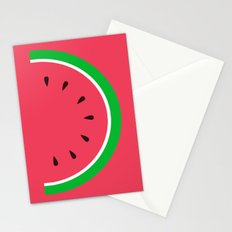 Red Watermelon - Summer time Stationery Cards