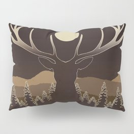 Deer Pillow Sham